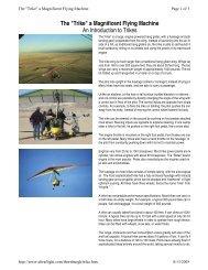 TRIKE PILOT MAKES AVIATION HISTORY - Sport Pilot Examiner