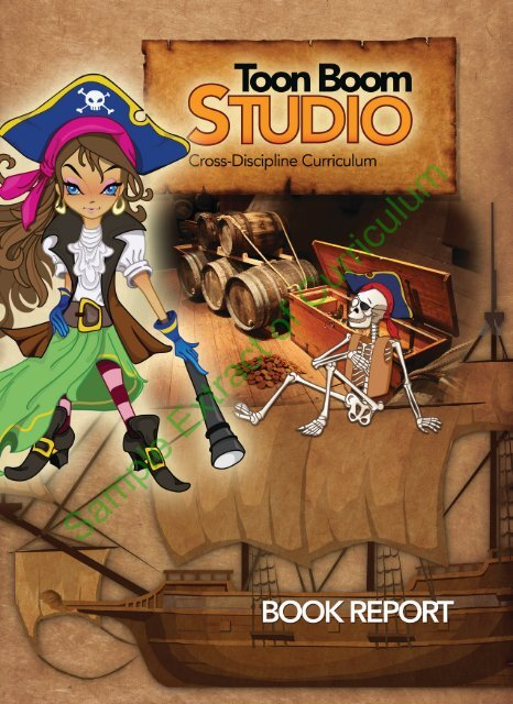 Studio Book Report Student Guide And Reading Notebook Sample