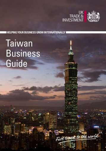 Taiwan Business Guide - Management and Business Studies Portal