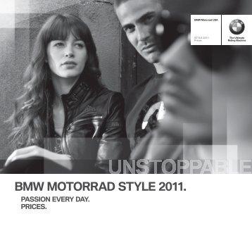 Bmw motorrad style 2011. - IRON LIGHTNING/BMW MOTORCYCLE  ...