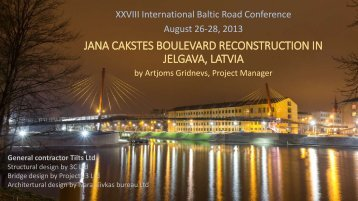 presentation - Baltic Road Association