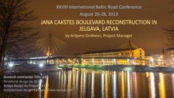presentation - Baltic Road Association
