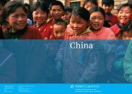 china - Ford Foundation