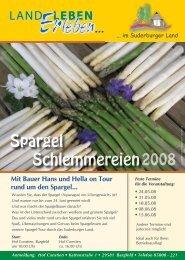 Spargel Schlemmereien - beim Ingenieurbüro Breidenbach ibe21...