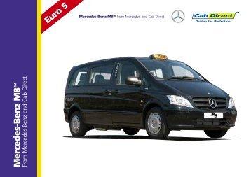 Mercedes-Benz M8 Taxi - Cab Direct