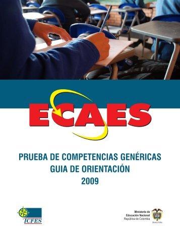PRUEBA DE COMPETENCIAS GENÉRICAS GUIA DE ...