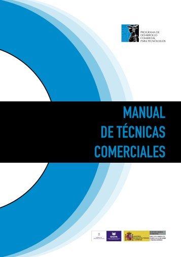 Manual de técnicas comerciales - Dirección General de Política de ...