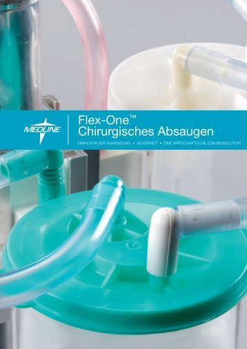 Flex-One™ Chirurgisches Absaugen - Medline