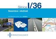 Silnice I/36 Sezemice – obchvat - Ředitelství silnic a dálnic