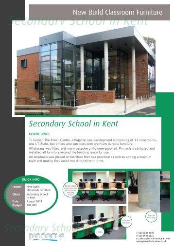 Secondary School in Kent - Pinnacle Furniture
