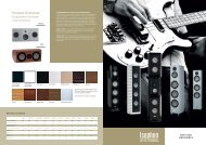 isophon Overview 2012-2013 (PDF)