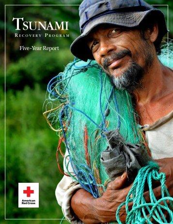 Tsunami Recovery Program Five Year Report - American Red Cross