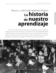 Museo de la Educación Gabriela Mistral - Revista Docencia
