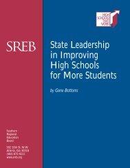 State Leadership/web - Southern Regional Education Board