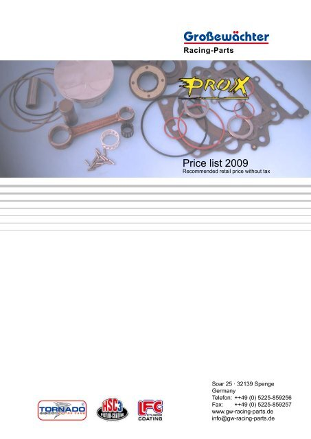 ProX Racing Parts 31.4393 Replacement Cam Chain