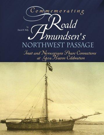 Roald Amundsen's Northwest Passage - Sympatico