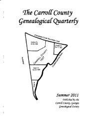 tfre Carroff Qountl - Carroll County Genealogical Society