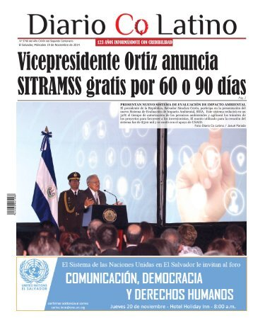 Edición 19 de Noviembre de 2014