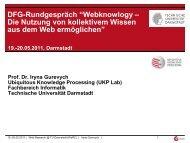 Slides - WeRC - Technische Universität Darmstadt