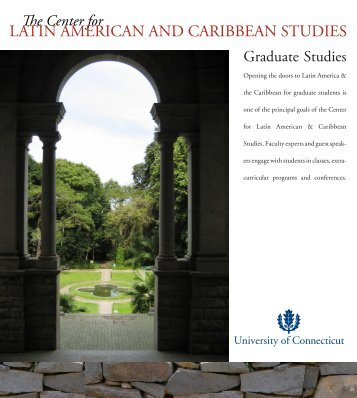 LATIN AMERICAN AND CARIBBEAN STUDIES - Center for Latin ...