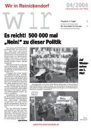 WiR - DIE LINKE. Reinickendorf