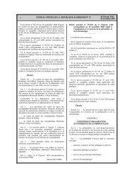 (correspondant au 10 novembre 2005) relatif à l ... - Santé Maghreb