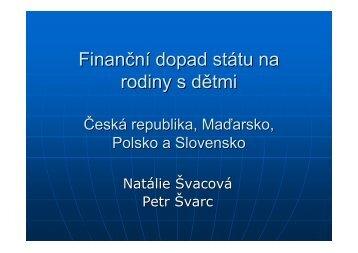 (Microsoft PowerPoint - Svarcova_Family_policy.ppt [jen pro \350ten ...