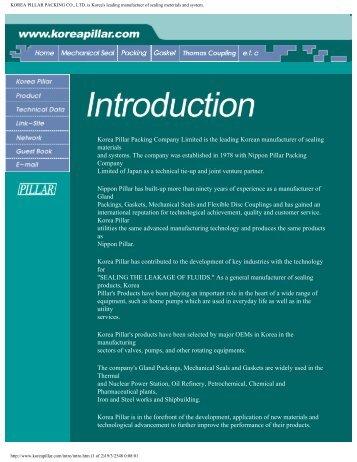 Koreapillarpacking Introduction.pdf - Leymas Co., Ltd.