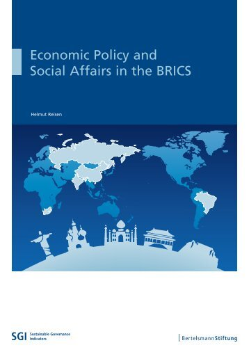Economic Policy and Social Affairs in the BRICS - SGI