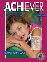 Spring 2006 - Arkansas Children's Hospital
