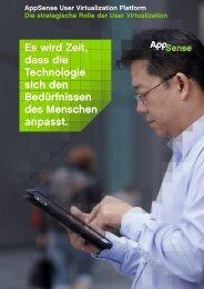 AppSense User Virtualization Plattform