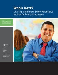 Let's Stop Gambling on School Performance and Plan for Principal ...