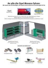 Opel Movano L2H2 - Schneider Fahrzeugeinrichtungs GmbH