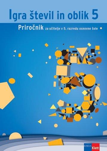 Igra števil in oblik 5 (posodobljena izdaja 2010) - priročnik (1,83 MB)