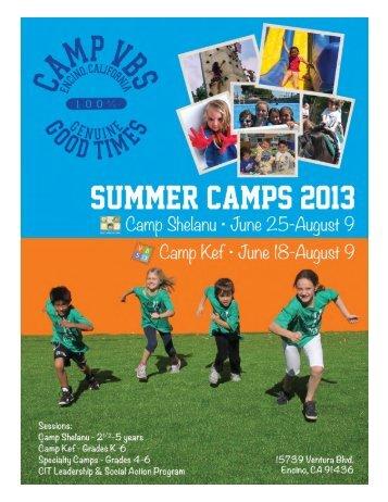 Camp Kef Grades K-6