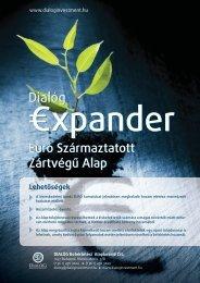Dialóg Expander Alap-kereskedelmi kommunikáció