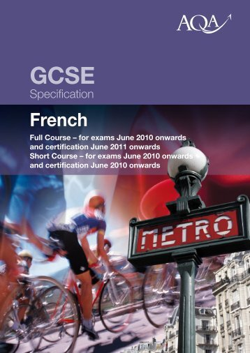 GCSE French spec - Hurworth MFL Blog
