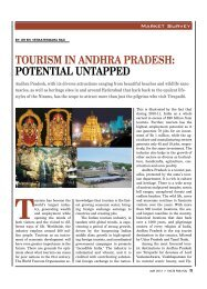 tourism in andhra pradesh: potential untapped - Facts For You