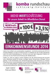 rundschau 2 - 2013.indd - Komba Schleswig Holstein