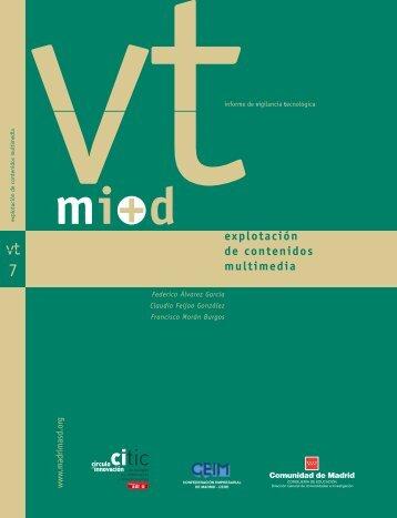7. Explotación de contenidos multimedia - Madri+d