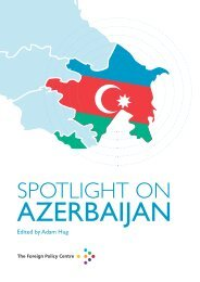 Download Spotlight on Azerbaijan - Foreign Policy Centre