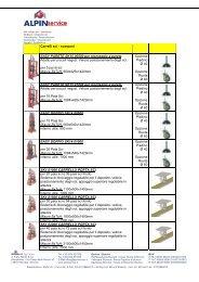 Carrelli sci - scarponi EASY PARETE SK15 00500 per ... - Alpinservice