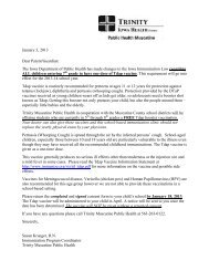 2012 school Tdap clinic consent letter and form - Muscatine ...