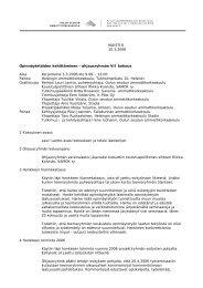 MUISTIO 10.3.2006 Opinnäytetöiden kehittäminen ... - Oamk