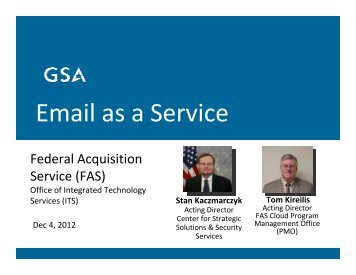 Email as a Service - Digital Government Institute
