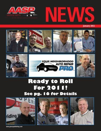 Ready to Roll For 2011! - Thomas Greco Publishing
