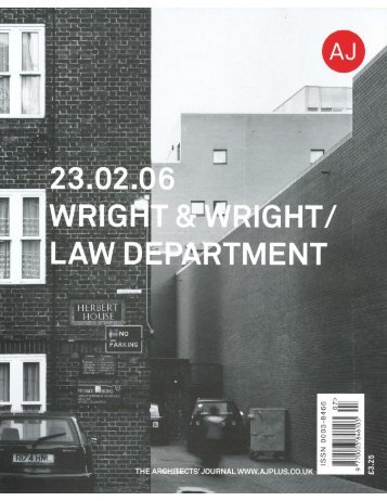 View PDF - Wright & Wright Architects