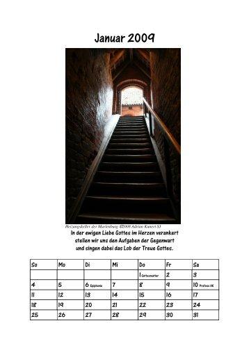 Kalender 2009 A4 - Adrian Kunert