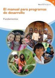 El manual para programas de desarrollo - World Vision International