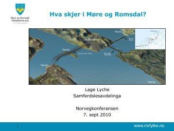 Hva skjer i Møre og Romsdal? - Norvegfinans